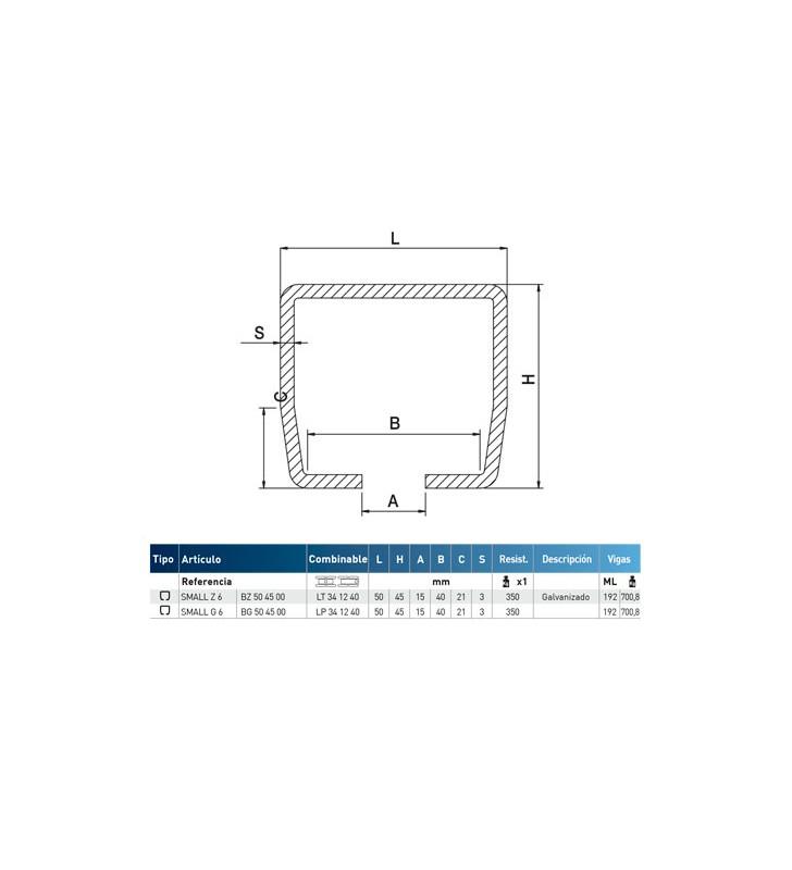 LINEA MINIGIPI - Guía para puerta corredera y plegable