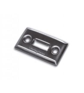 Topes de acero cincado o inoxidable con fijación a suelo para atornillar
