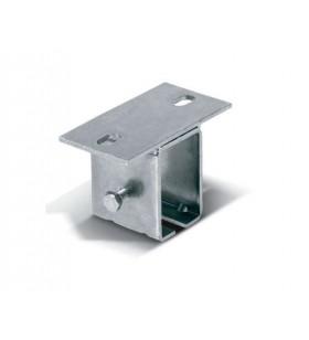 Soporte universal para atornillar a techo regulable en anchura para monorail