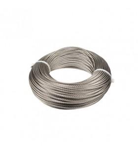 Cable de acero inoxidable 7×7+0