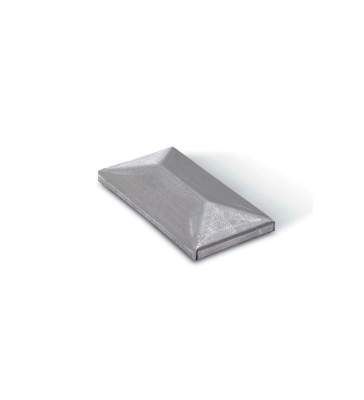 Tapa superior rectangular cincada o no cincada