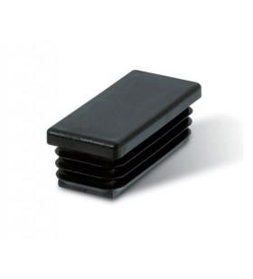 Contera rectangular de plástico